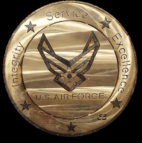 """15"""" Air Force Coin"""