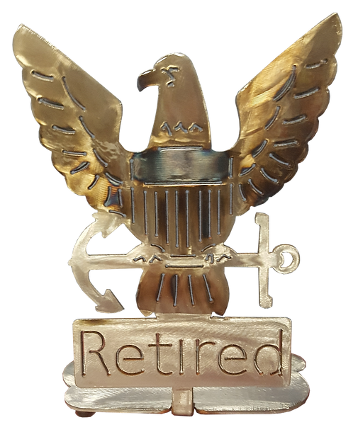 Retired USN Eagle Desk Mount