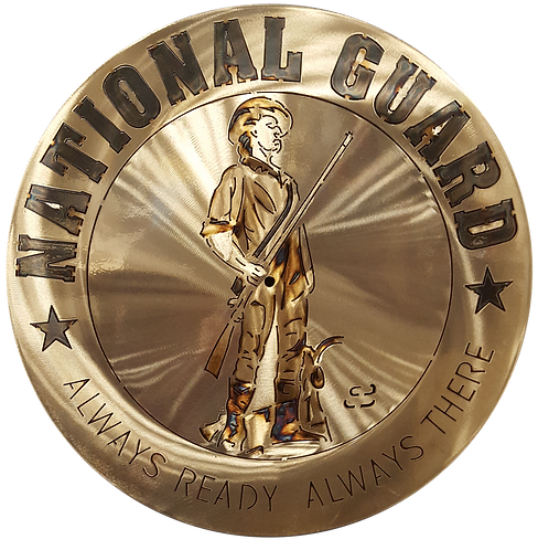 "15"" National Guard Coin"