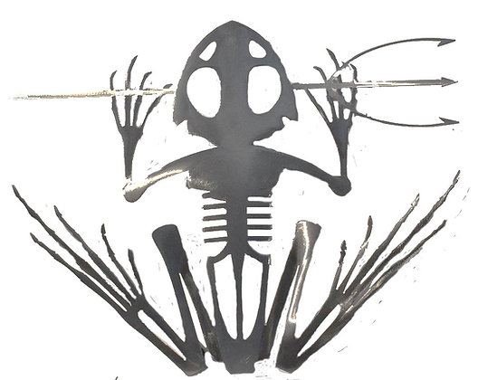 Bone Frog Wall Hanging