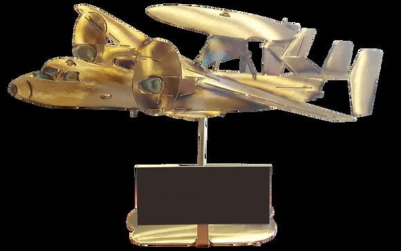 E-2D Advanced Hawkeye Replica with Custom Tag