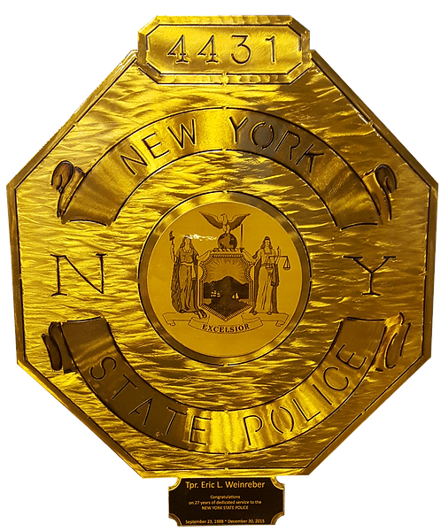 New York State Police Badge