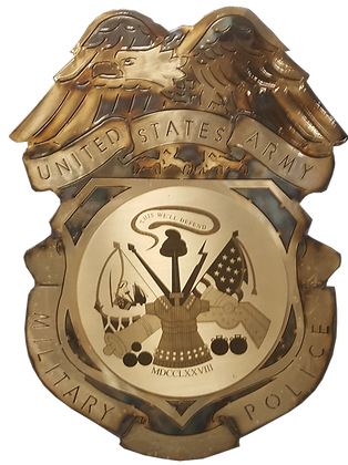 US Army MP Badge