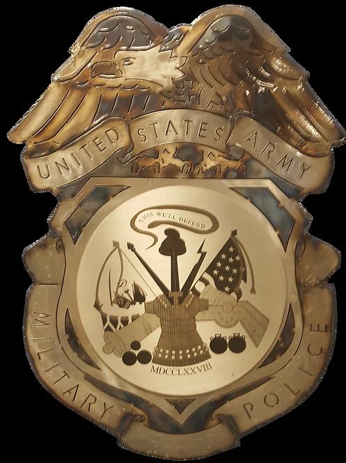US Army MP Badge