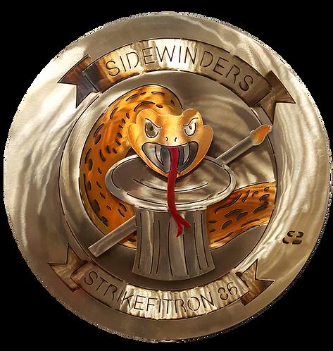 "17"" VFA-86 Sidewinders Strike Fight Medallion"