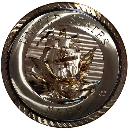 "17"" US Navy Medallion"