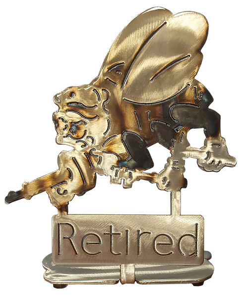 Retired Seabee Desk Mount