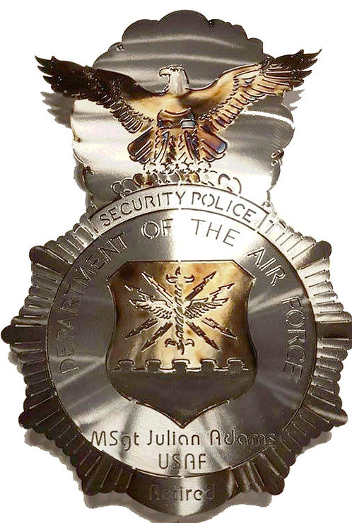 Air Force Security Police Badge