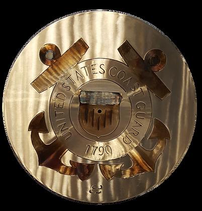 "15"" Coast Guard Clock"