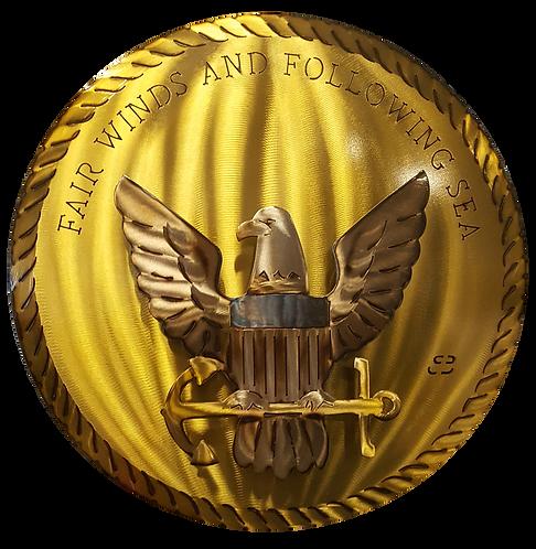 """17"""" Fair Winds Medallion"""