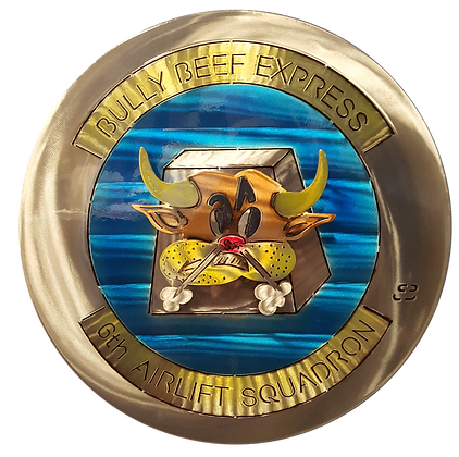 "17"" Bully Beef Express Medallion"