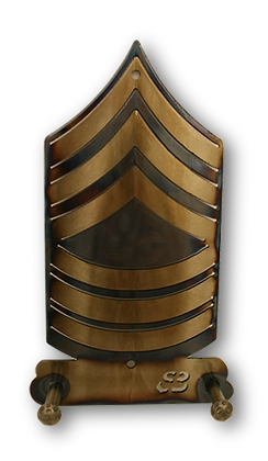 Master Sergeant E-8 Two Hook