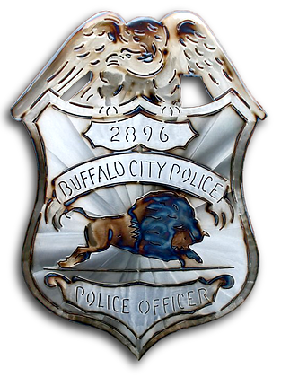 City of Buffalo Police Badge