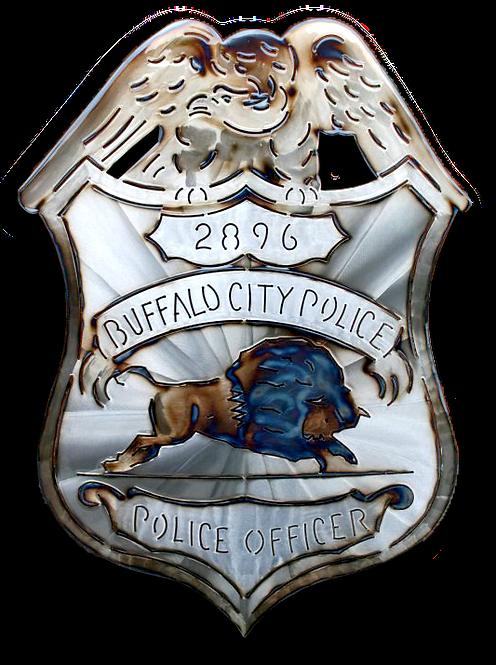 City of Buffalo Police Badge