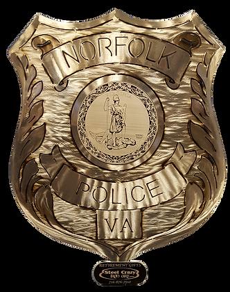 Norfolk Police Badge