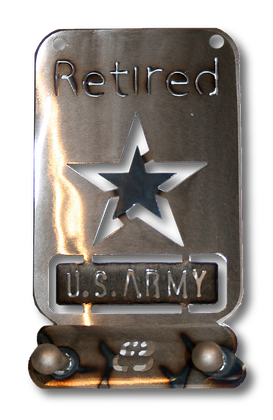 Retired US Army Two Hook