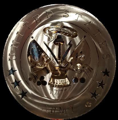 """17"""" Army Medallion"""