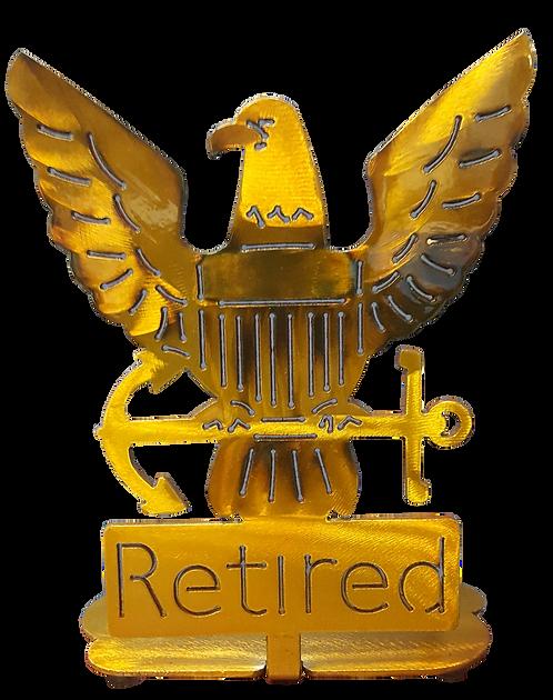 Retired Eagle Desk Mount