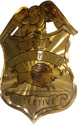 Buffalo Detective Badge