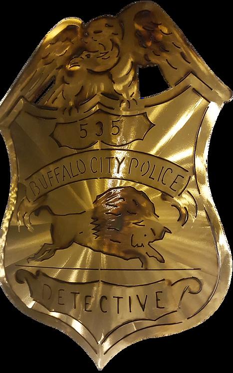 Buffalo Detective Badge