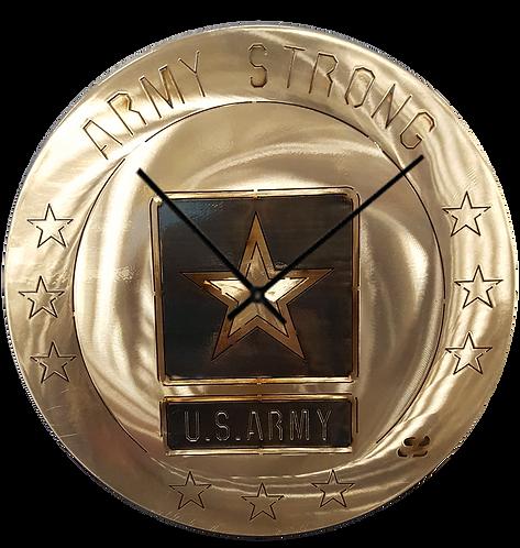"15"" Army Clock"