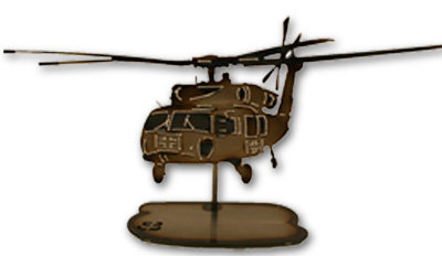 Red Cross Black Hawk Helicopter