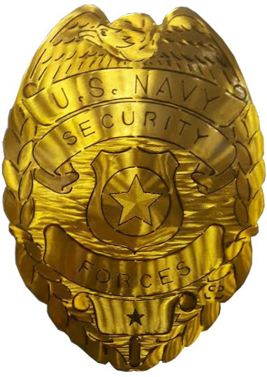 Navy Security Forces Badge