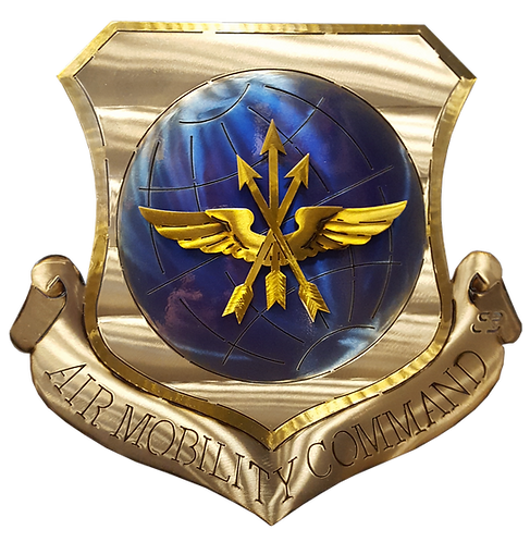Air Mobility Command Medallion