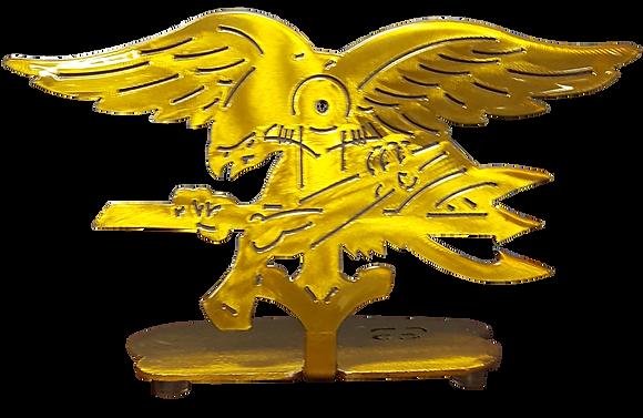 Gold Trident Desk Mount