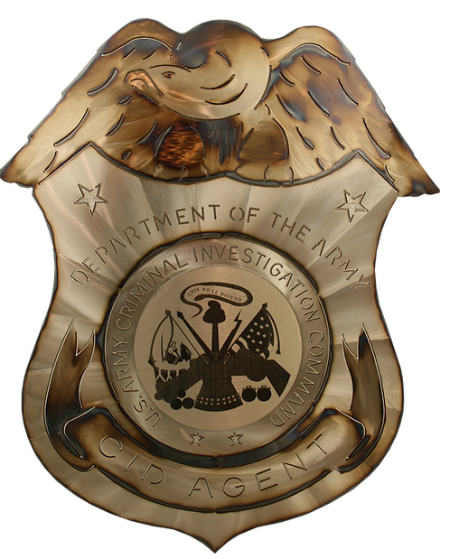 Army CID Agent Badge