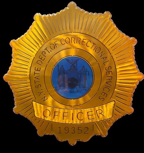 NYS Correctional Badge