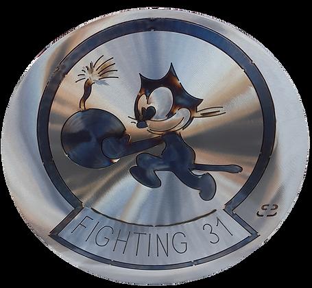 "17"" Strike Fighter Squadron 31 Medallion"