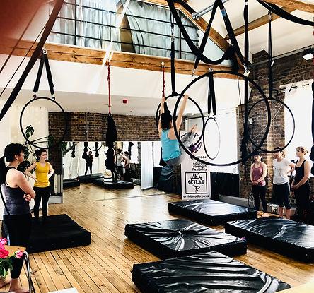 skylab studio aerial hoop class