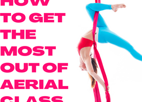 How to get the most out of aerial class