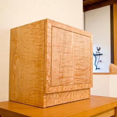 タモ材の仏壇
