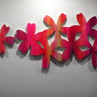 壁面アート(花びら)