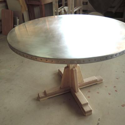 アルミ巻きテーブル