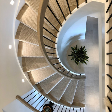 Stair runner/ NYC style/ Designed by: Poliform