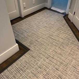 Custom Hallway Runner Installed Part 1