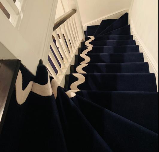 Custom Stair Runner
