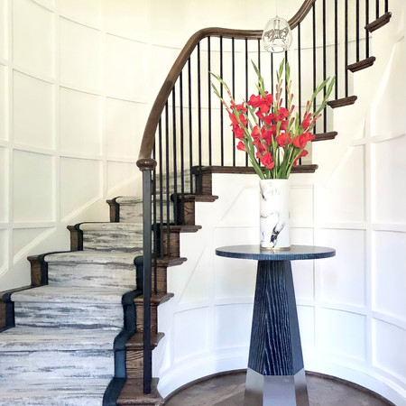Stair Runner with Wide Binding (New York Style)/ Designed by JLA design