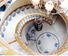 Foyer and Stair Runner Install
