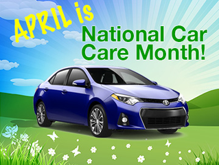 April Is National Spring       Car Care Month!