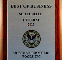 MBP Awarded 2015 - Best of Business - Scottsdale