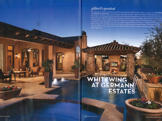 "2 Page Spread of ""Street of Dreams"" home"