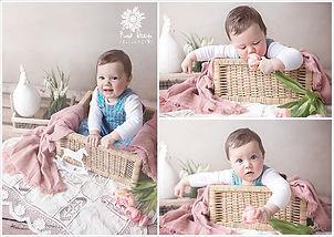 Tortenschlacht-shooting cake smash Roma Design Photography - Newgeborenen und Kinder Fotografie in Regensburg