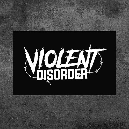 Sticker Violent Disorder