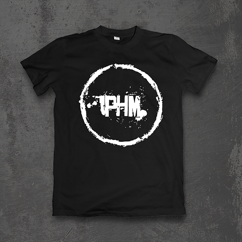 T-shirt PHM records black
