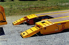 hydraulic detachable ramps