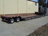 lowboy, AG/combine machinery hauling trailers
